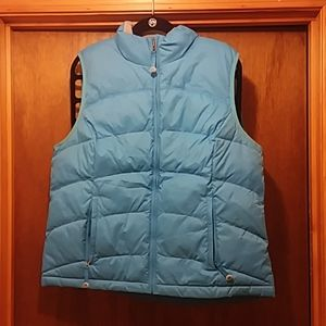 L.L. Bean Blue Down Puffer Puffy Vest NWOT XL